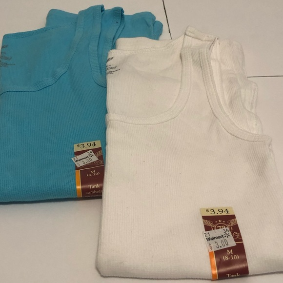 Faded Glory Tops - Two basic tanks